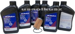 Filtr olej silnikowy 5W-30 Dexos2 Full Synthetic ACDelco Pontiac G8 3,6 V6