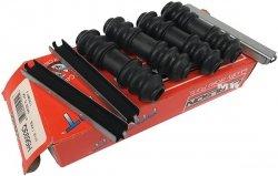 Zestaw montażowy klocków oraz osłon prowadnic tylnego zacisku hamulcowego Dodge Dakota 2003-2004
