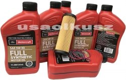 Filtr olej 5W30 Full Synthetic MOTORCRAFT Ford Fusion 2,7 V6