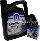 Olej MOPAR 5W20 oraz filtr oleju silnika Dodge Avenger 2008-