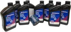 Filtr olej silnikowy 0W20 Dexos2 Full Synthetic ACDelco GMC Yukon 1500 2015-