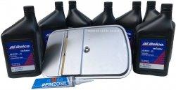 Filtr + olej ACDelco skrzyni biegów GM 5L40E Cadillac STS 2005-2007