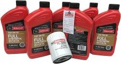 Oryginalny filtr oraz olej silnikowy Motorcraft 5W30 Full Synthetic Lincoln MKS 3,5 V6 2011-