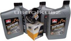 Filtr oleju oraz syntetyczny olej 10W30 Jeep Cherokee 2,4 16V