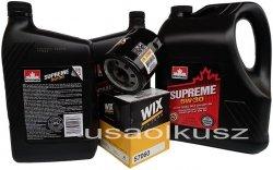 Filtr oraz mineralny olej 5W30 Chevrolet Colorado 5,3 V8