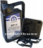 Olej MOPAR ATF+4 oraz filtr automatycznej skrzyni 4SPD Chrysler 200 2,4 16V