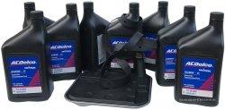 Filtr + olej ACDelco automatycznej skrzyni biegów 4L80-E GMC Yukon -2007