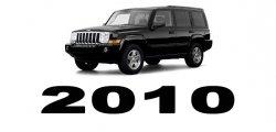 Specyfikacja Jeep Commander 2010