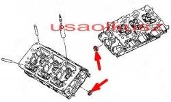 Brok zaślepka głowicy 31,75 mm Chrysler Town Country Voyager 4,0 V6