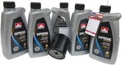 Filtr oleju oraz syntetyczny olej 10W30 Dodge Neon