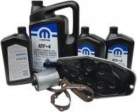 Olej MOPAR ATF+4 oraz filtry skrzyni biegów 6-speed Dodge RAM AWD