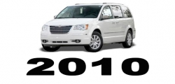 Specyfikacja Chrysler Voyager Town&Country 2010