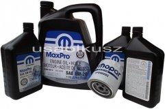 Oryginalny filtr oraz olej MOPAR 5W20 Chrysler Aspen 5,7 -2008