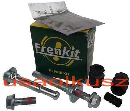 Zestaw prowadnic oraz osłonek przedniego zacisku hamulcowego Dodge Neon SRT-4 2,4
