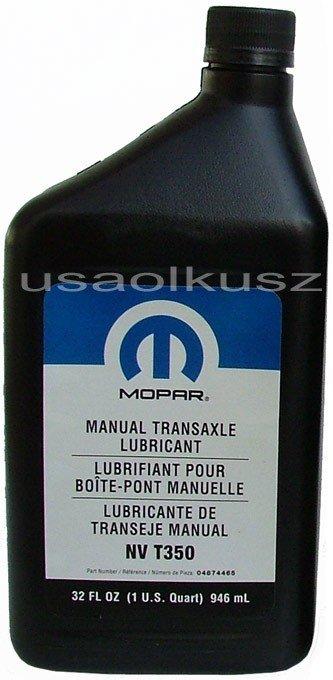 ORYGINALNY olej manualnej skrzyni biegów MOPAR NV T350