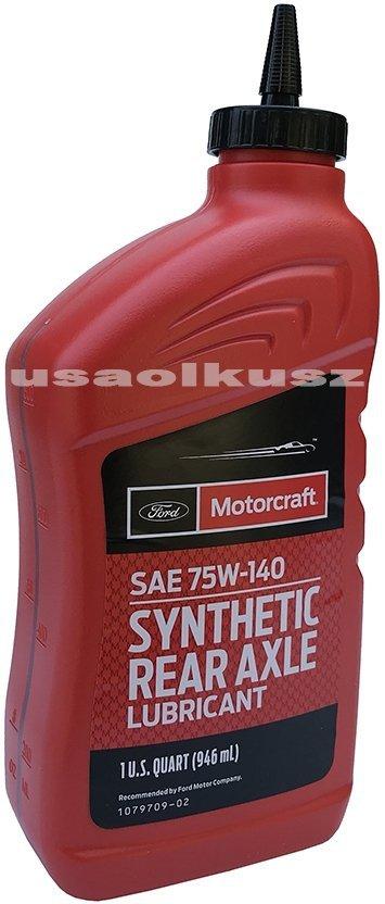 Syntetyczny olej mostu Motorcraft 75W-140 Lincoln Mercury