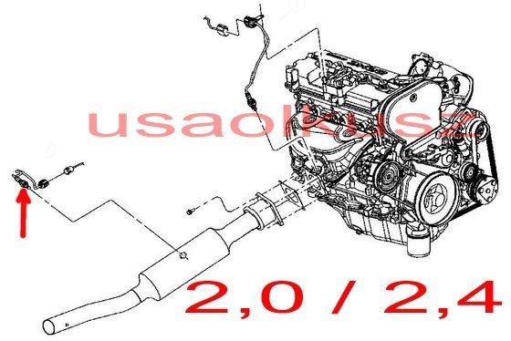 Sonda lambda MOPAR Chrysler Sebring 2004-2010