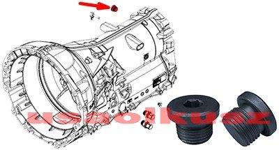 Korek skrzyni biegów 845RE 8-Speed Jeep Grand Cherokee 3,6 V6 2014-