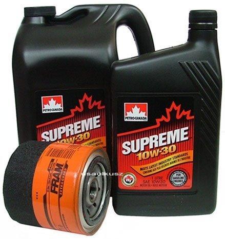 Filtr oleju FRAM PH16 oraz olej SUPREME 10W30 Dodge Dakota