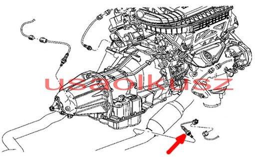 Sonda lambda tylna prawa MOPAR Dodge Magnum 3,5 V8 2007-