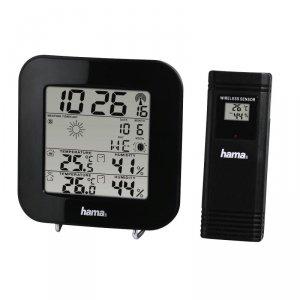 Stacja pogody Hama EWS-200, czarna