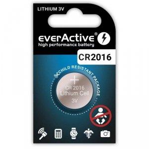 Bateria litowa CR2016 everActive 1 szt.