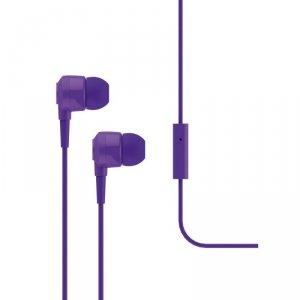 Słuchawki douszne z mikrofonem Ttec J10, fioletowe