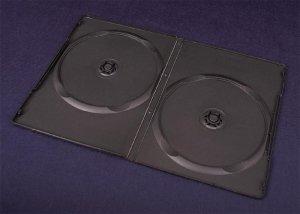 Pudełko Esperanza na 2 DVD 9mm slim 3033 czarne