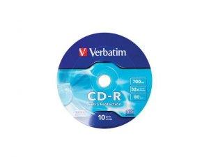 CD-R Verbatim 700MB Extra Protection Wrap (10 Spindel)