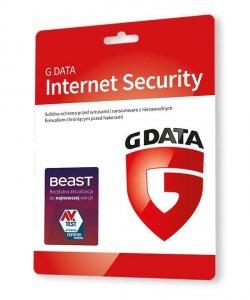 GDATA Internet Security 3PC 1rok karta-klucz