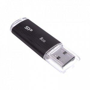Pendrive Silicon Power ULTIMA U02 8GB 2.0 plastic Black