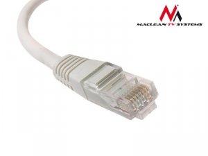 Patchcord Maclean MCTV-646 UTP 5e wtyk-wtyk 0,5m szary