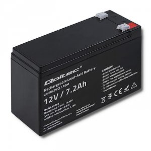 Akumulator AGM Qoltec 12V   7.2Ah   max.108A