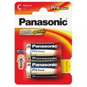 Panasonic bateria alkaliczna LR14 Pro Power - 2 szt blister