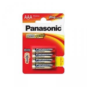 Panasonic bateria alkaliczna LR03/AAA Pro Power - 4 szt blister