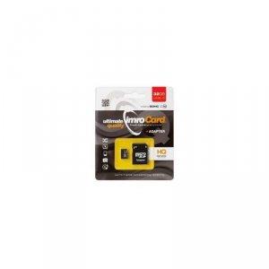 IMRO MicroSDHC 32GB kl.10 UHS-3 z adapterem