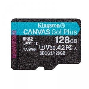Kingston karta pamięci micro SDXC Canvas Go! Plus (128GB   class 10   UHS-I   170 MB/s) + adapter