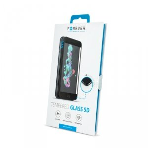 Forever szkło hartowane 5D do Huawei P Smart 2021 / Y7A / Honor 10X Lite czarna ramka