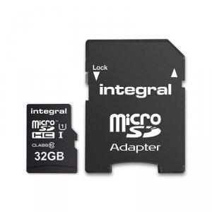 Integral karta pamięci 32GB microSDHC/XC 90MB/s Class 10 UHS-I U1