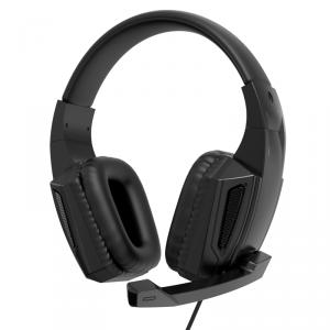 XO słuchawki przewodowe GE-01 jack 3,5mm nauszne czarne