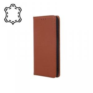 Etui skórzane Smart Pro do Samsung Galaxy A42 5G brązowy