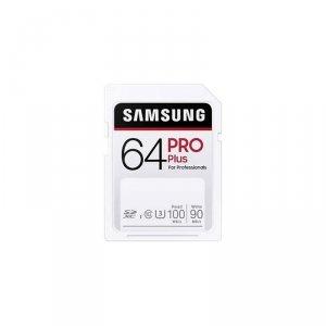 Samsung karta pamięci 64GB SDHC PRO Plus 100MB/s Full SD