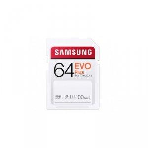 Samsung karta pamięci 64GB Full SD Evo plus 100MB/s