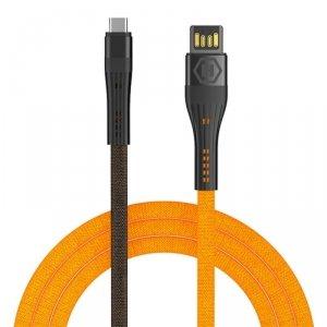 Hammer kabel USB-C 1,2 m 3A pomarańczowy