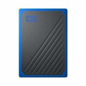 WD dysk SSD przenośny My Passport Go 2 TB niebieski