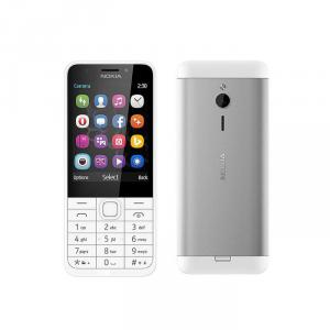 Telefon Nokia 230 DS biało-srebrny