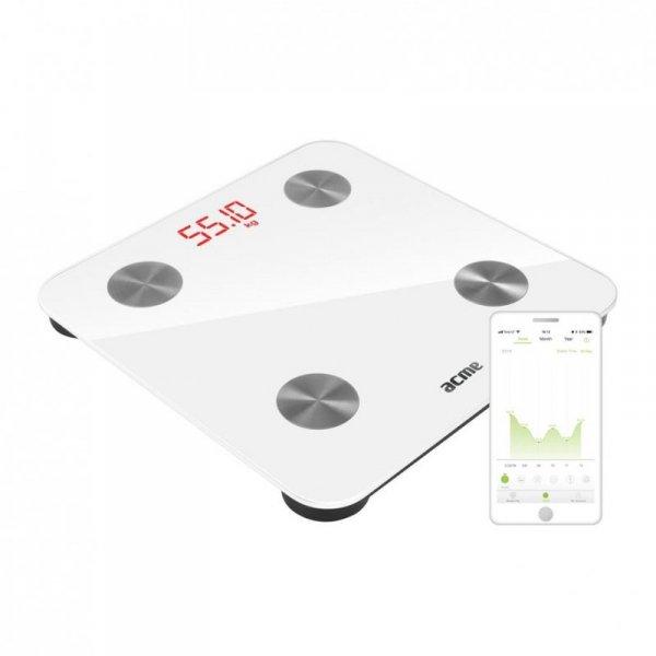 Waga łazienkowa smart Acme SC101 (biała)