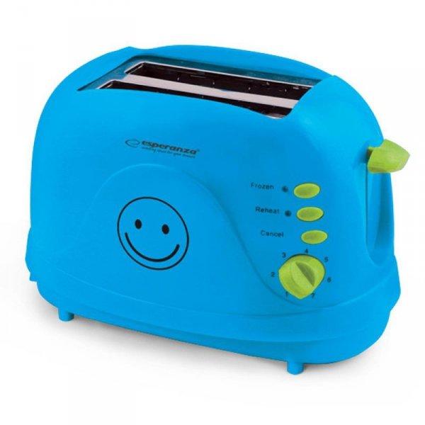 Toster Esperanza Smiley EKT003B niebieski