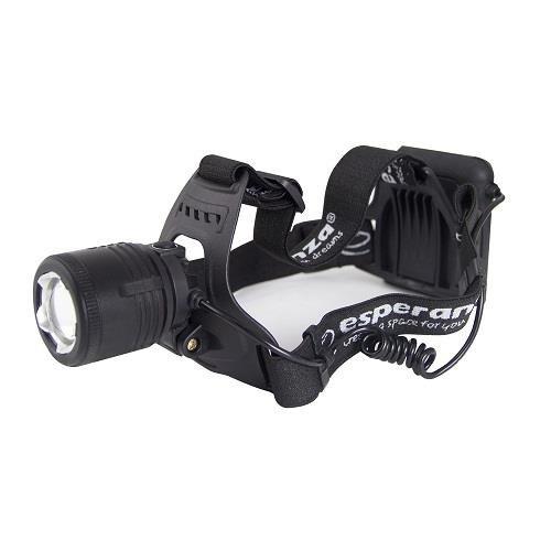 Latarka czołowa LED Esperanza Cree T6 Draco