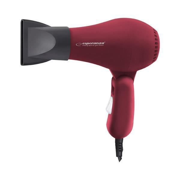 Suszarka do włosów Esperanza Aurora 750W Czerwony